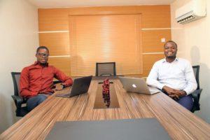 Deji Lana and Dr. Emmanuel Okeleji, cofounders of SeamlessHR
